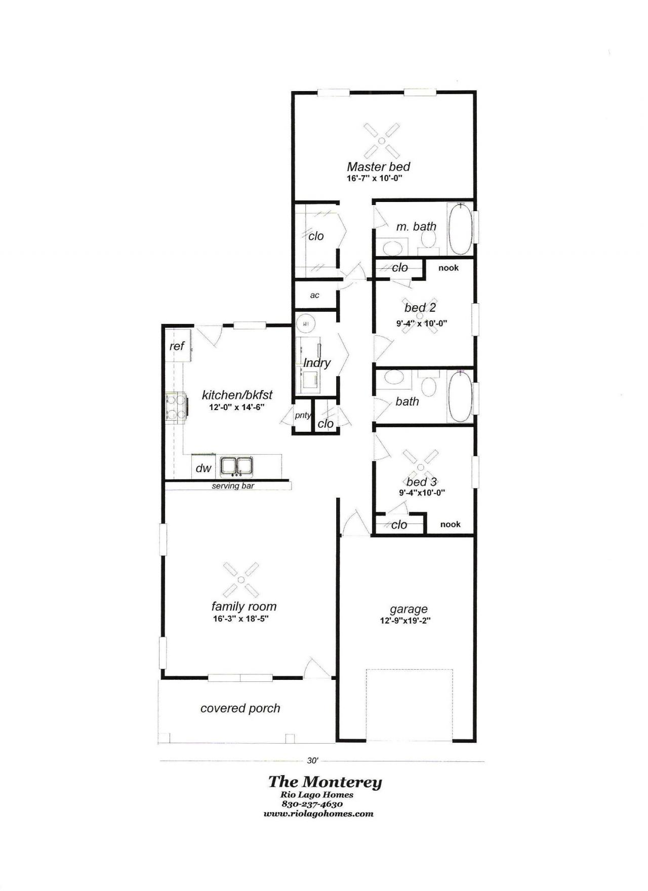 Rio lago homes floor plans and pricing for Floor plan prices